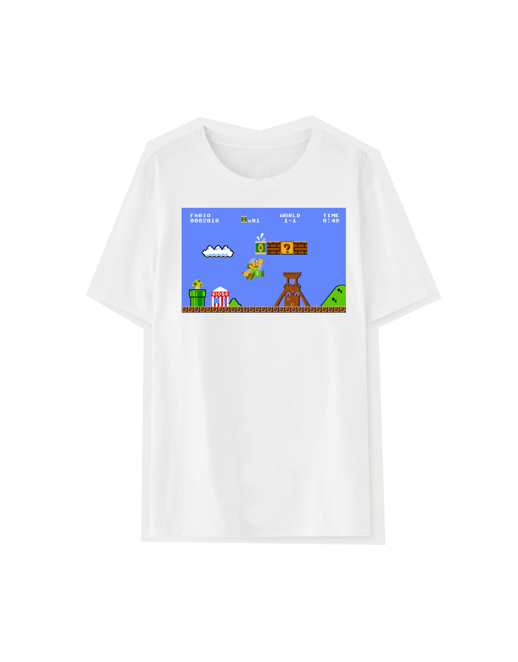 T-Shirt SUPER FABIO WORLD