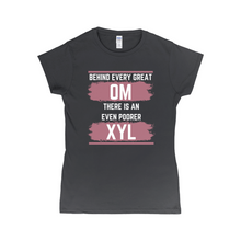 Load image into Gallery viewer, Behind Every Great OM XYL Dark T-Shirt