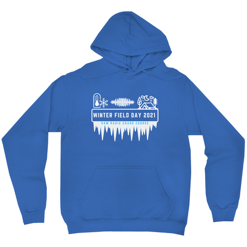 Winter Field Day 2021 Hard Mode Hoodie