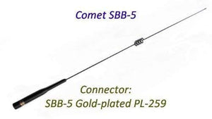 SBB-5 SBB5 Comet Original 146/446 MHz Dual Band Mobile Antenna