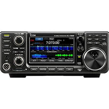 Load image into Gallery viewer, Icom IC-7300 HF/50 MHz Base Transceiver with Touch Screen Color TFT LCD, 100 Watts, and Ham Guides Pocket Reference Card - Bundle - 2 Items