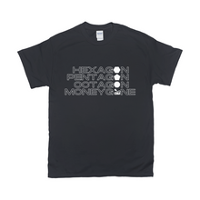 Load image into Gallery viewer, The Shape of a Moneygone Dark T-Shirt
