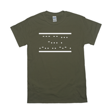 Load image into Gallery viewer, OMs Be Like Morse Code T-Shirt