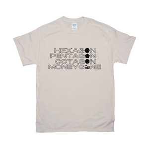 The Shape of a Moneygone T-Shirt