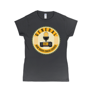Women's Ham Radio Crash Course General T-Shirt