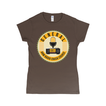 Load image into Gallery viewer, Women's Ham Radio Crash Course General T-Shirt