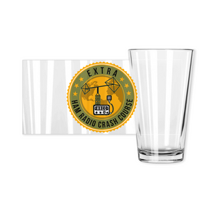 Ham Radio Crash Course Extra Pint Glass