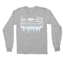 Load image into Gallery viewer, Winter Field Day 2021 Hard Mode Long Sleeve Shirt