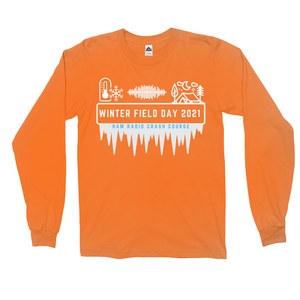 Winter Field Day 2021 Hard Mode Long Sleeve Shirt