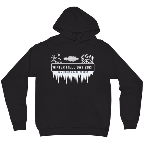 Winter Field Day 2021 Coast to Coast Hoodie