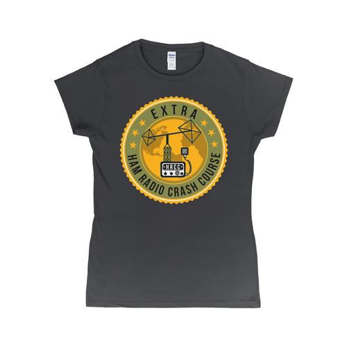 Women's Ham Radio Crash Course Extra T-Shirt