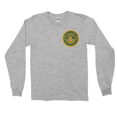Technician Class Badge Long Sleeve Shirt