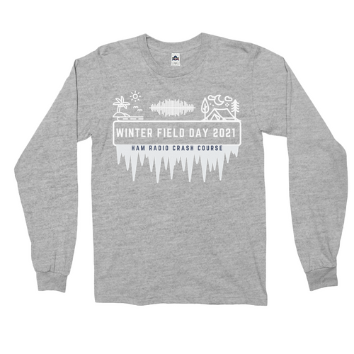 Winter Field Day 2021 Coast to Coast Long Sleeve Shirt