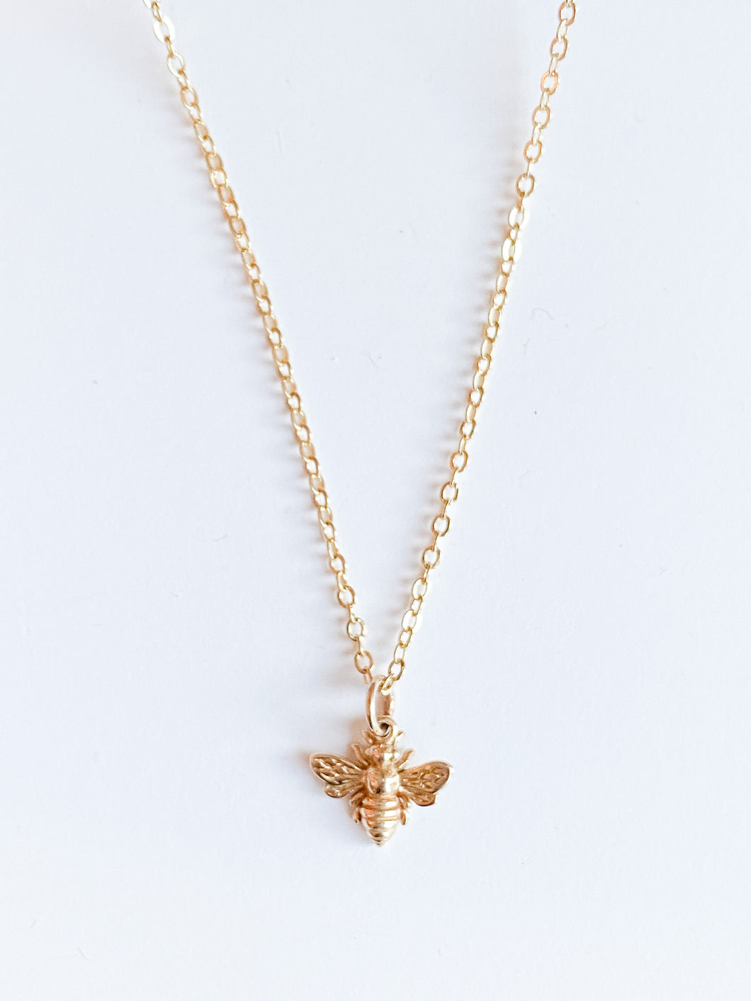 Honey Bee Necklace - Small