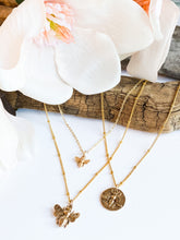 Load image into Gallery viewer, Honey Bee Necklace - Small