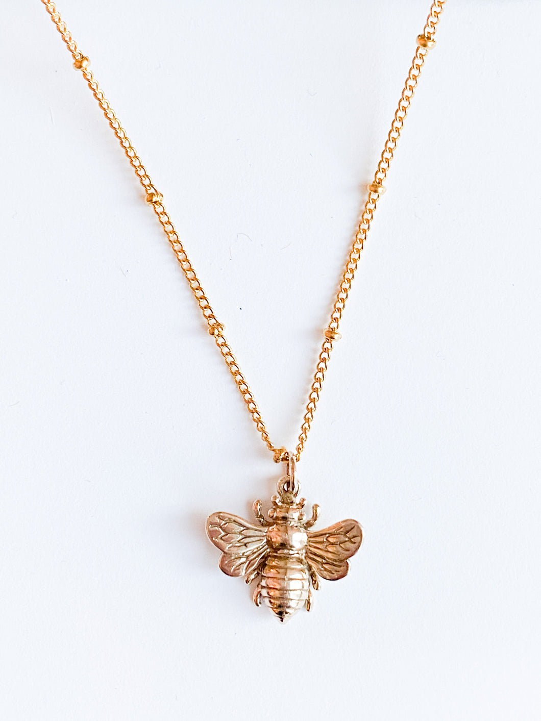 Honey Bee Necklace - Large