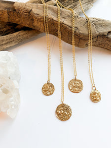 Griffin Coin Necklace