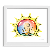 Load image into Gallery viewer, Buddha Bubble • Art Print