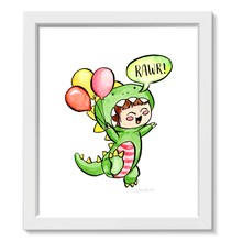 Load image into Gallery viewer, Dinosaur Rawr • Art Print