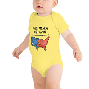 Make America Kind Again • Baby Onesie Bodysuit