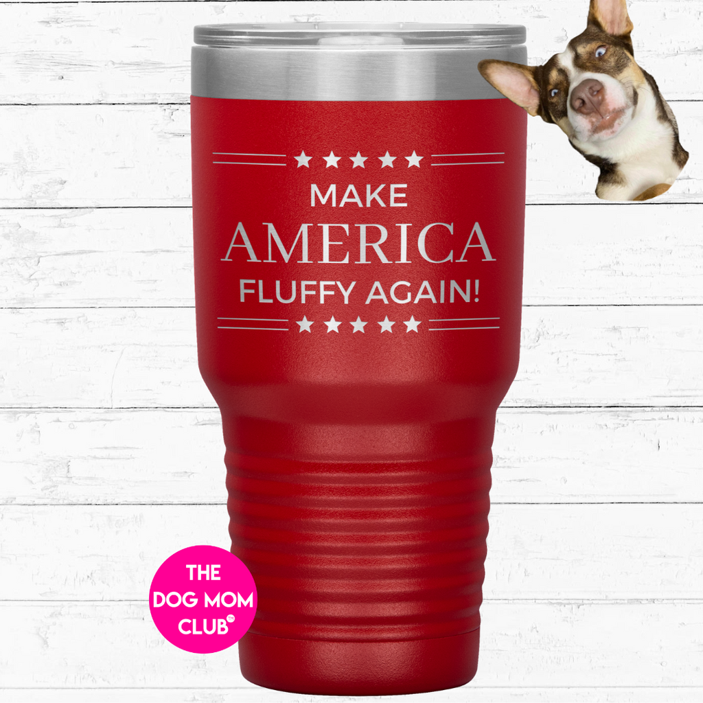 This Tumbler Is For Ghost <3 Make America Fluffy Again