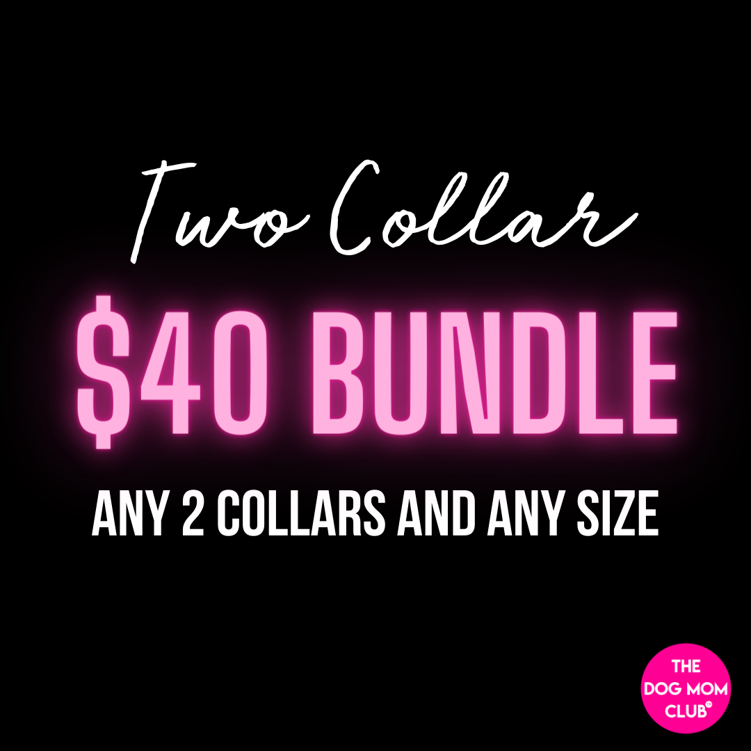 2 Collar Bundle (Save $8)