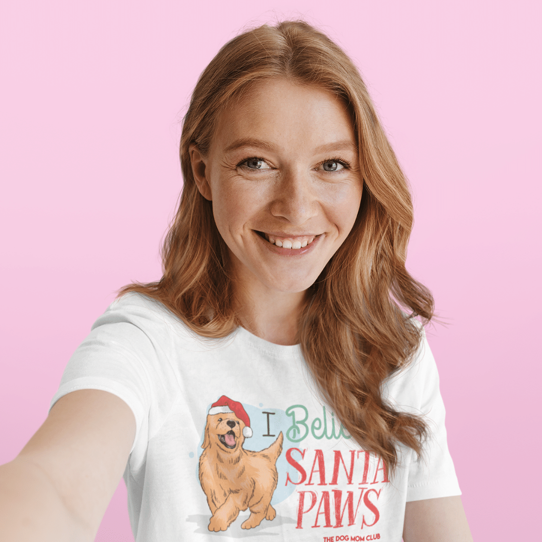 I Believe In Santa Paws // This Tee Helps Special Puppies In Need <3