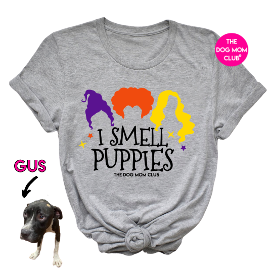 I Smell Puppies // This Tee Helps Gus! <3
