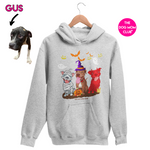 Pittie Halloween // This Hoodie Helps Gus! <3