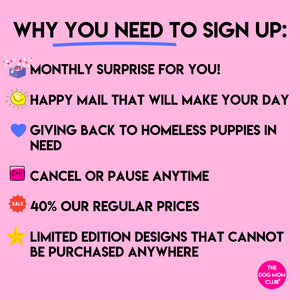 Momma Mystery Merch Club! Monthly Happy Mail Benefitting Puppies In Need <3
