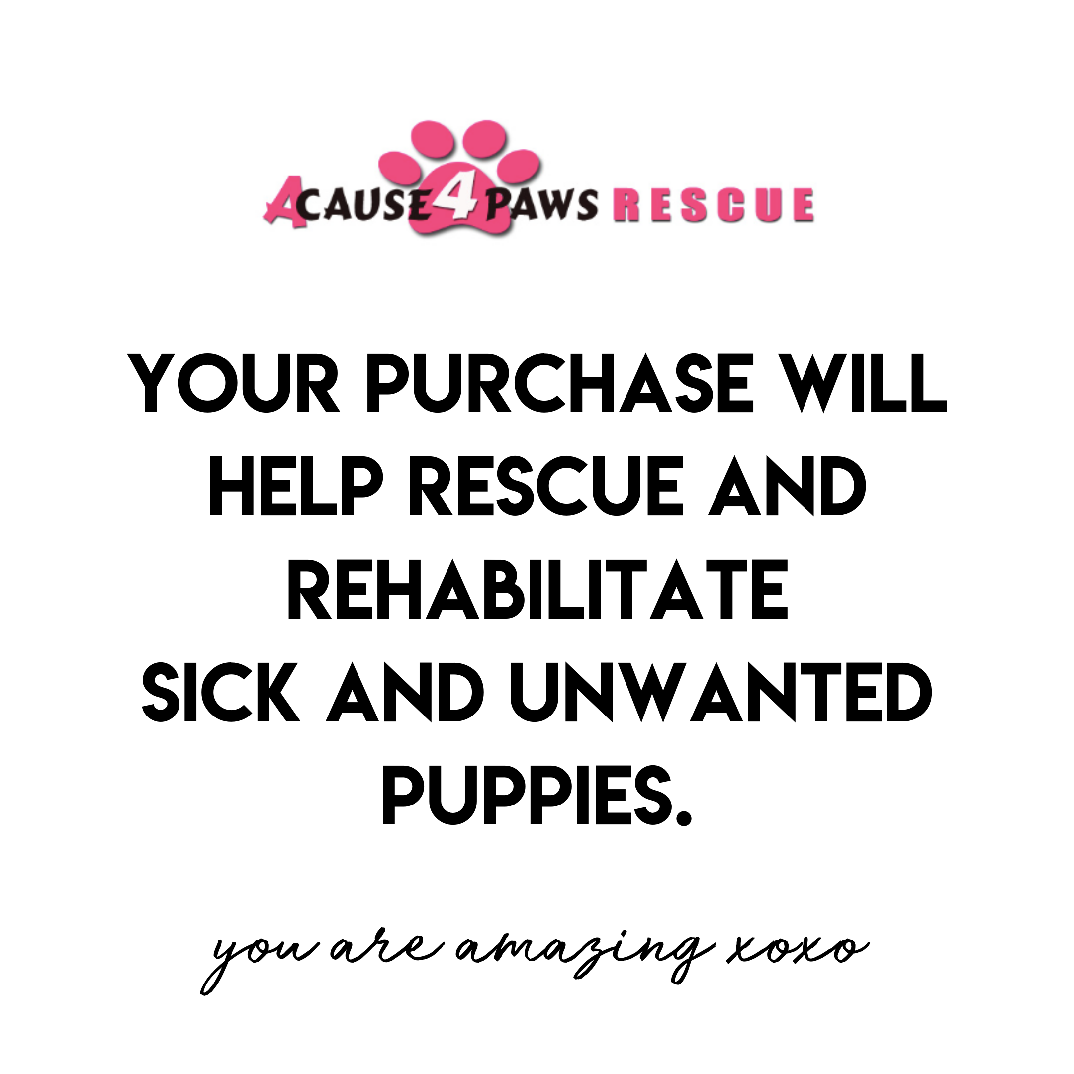 Wears Black // This Tank Rescues & Rehabilitates Sick and Unwanted Puppies <3