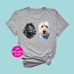 Your Dog's Portrait Tee (up to 4 pets)