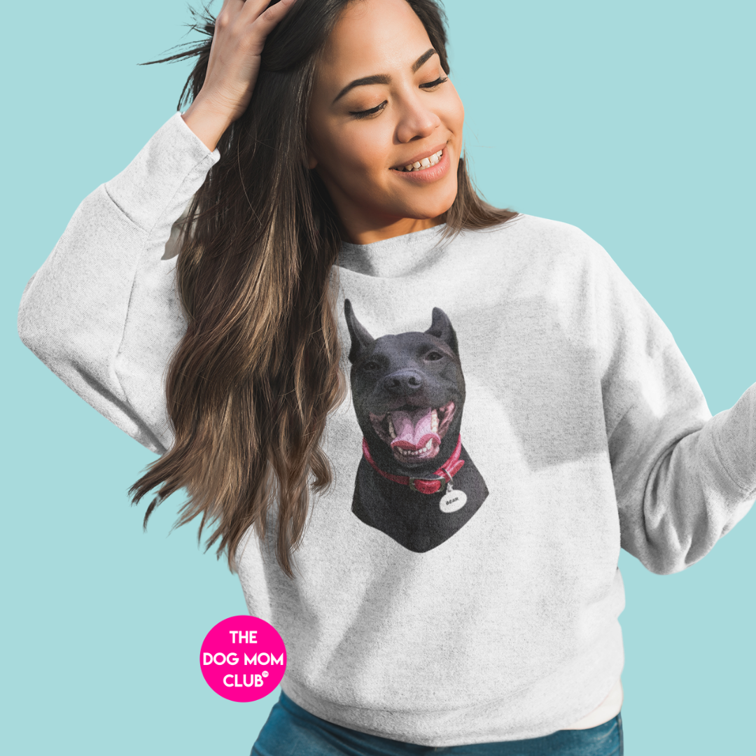 Your Dog's Portrait Sweater (up to 4 pets)