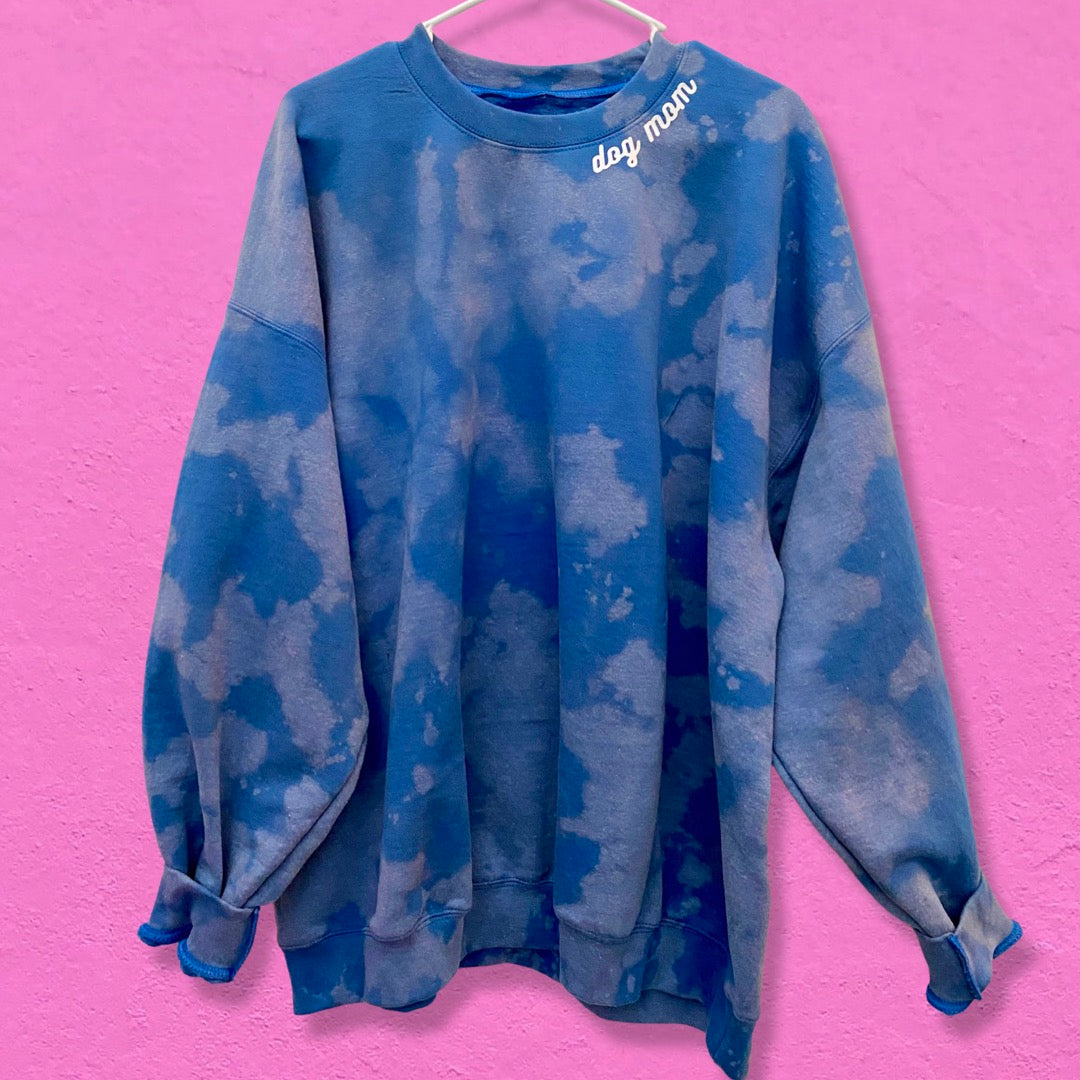 Hand Dyed Ocean Breeze Sweater (very limited edition!)