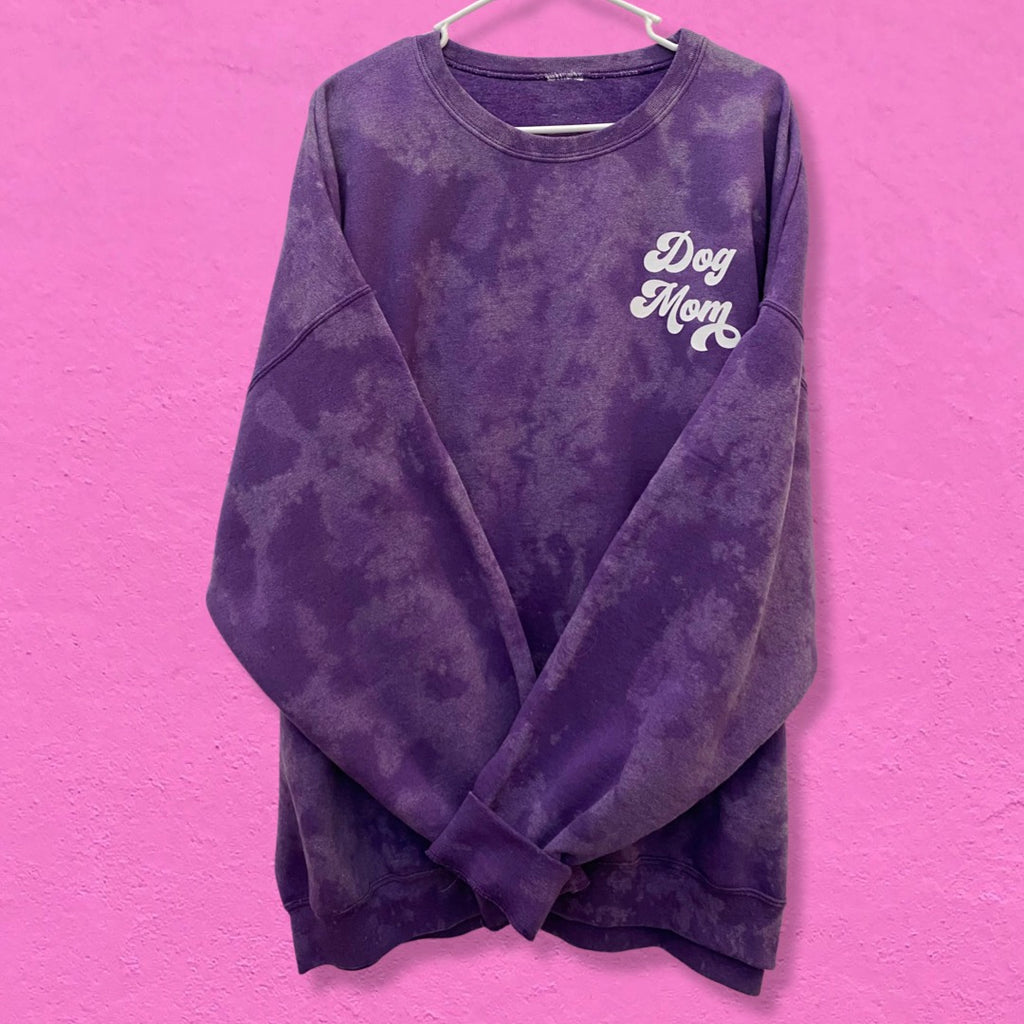 Hand Dyed Grape Soda Sweater (very limited edition!)