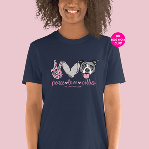 Peace, Love, Pitties! // This Tee Benefits Elderly Puppies <3