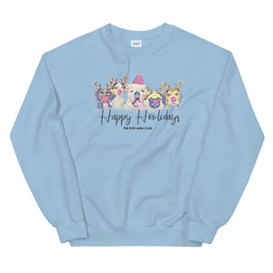 Happy Howlidays // This Crew Neck Benefits Special Rescue Puppies In Need <3