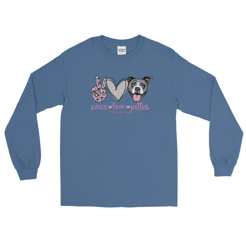 Peace, Love, Pitties! // This Long Sleeved Benefits Elderly Puppies <3