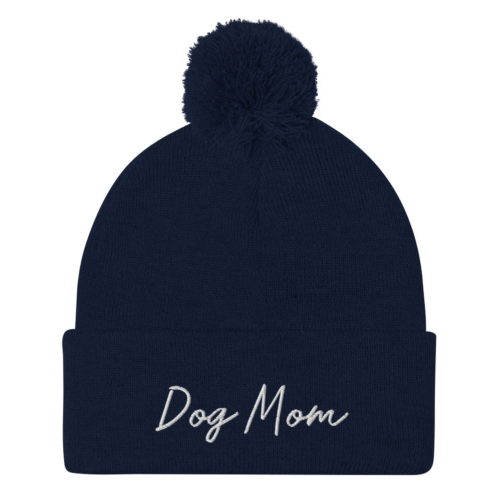 Embroidered Pom Pom Hat // This Hat Benefits Special Rescue Puppies In Need <3
