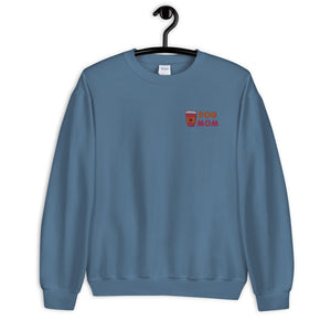 Dunkin' Dog Mom Embroidered Sweater