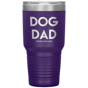 Engraved Dog Dad Tumbler