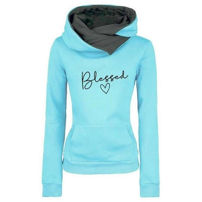 Faith Blessed Scarf Hoodie