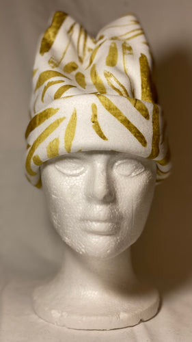 Gold Leaf Fleece Hat