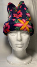 Load image into Gallery viewer, Radial Flowers Fleece Hat