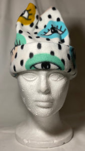 Eyes Fleece Hat