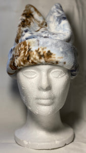 Snowy Deer Fleece Hat