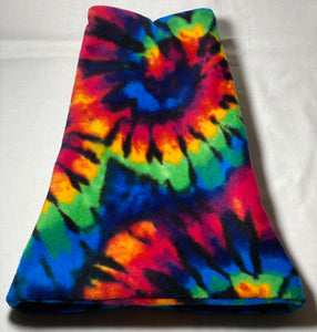 Tie Dye Explosion Fleece Hat
