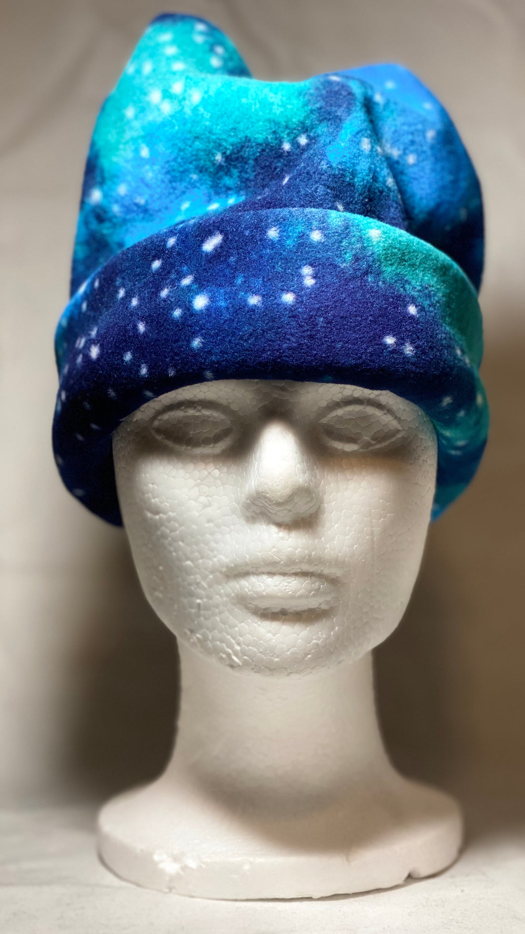Outer Space Fleece Hat