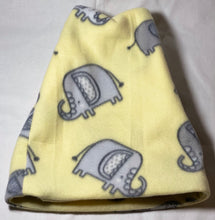 Load image into Gallery viewer, Yellow Elephant Fleece Hat
