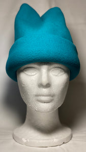 Teal Fleece Hat